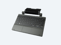 Detachable Keyboard Designed to connect to a DT Research Tablet without switching and pairing, ideal for 2-in-1 applications
